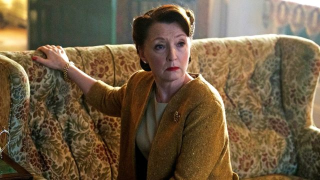 Lesley Manville as Robina Chase in World on Fire, Episode 2