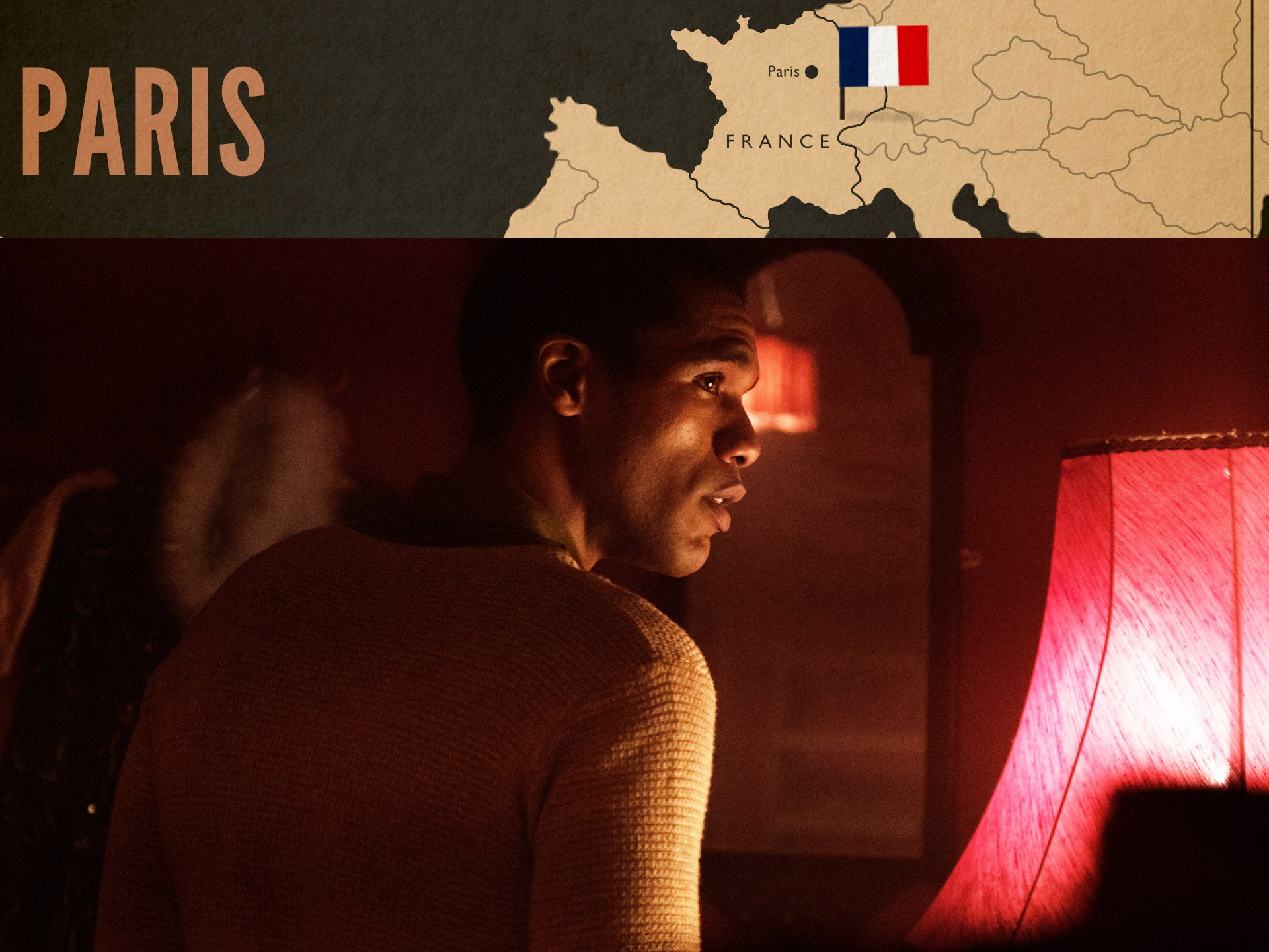 Albert Fallou (Parker Sawyers) in World on Fire Episode 2