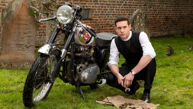 Tom Brittney as Vicar Will Davenport in Grantchester Season 5 Trailer