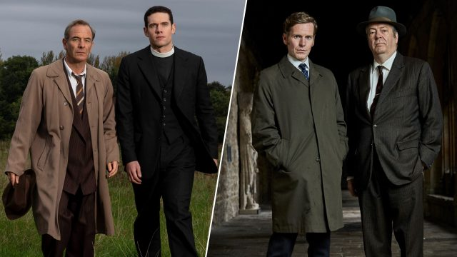 Grantchester, Season 5 and Endeavour, Season 7 on MASTERPIECE