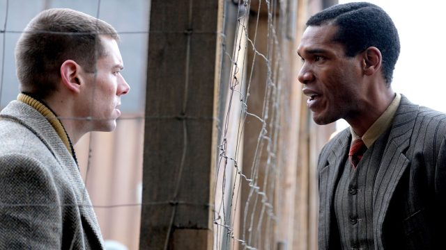 Brian J Smith and Parker Sawyers in World on Fire, Episode 6