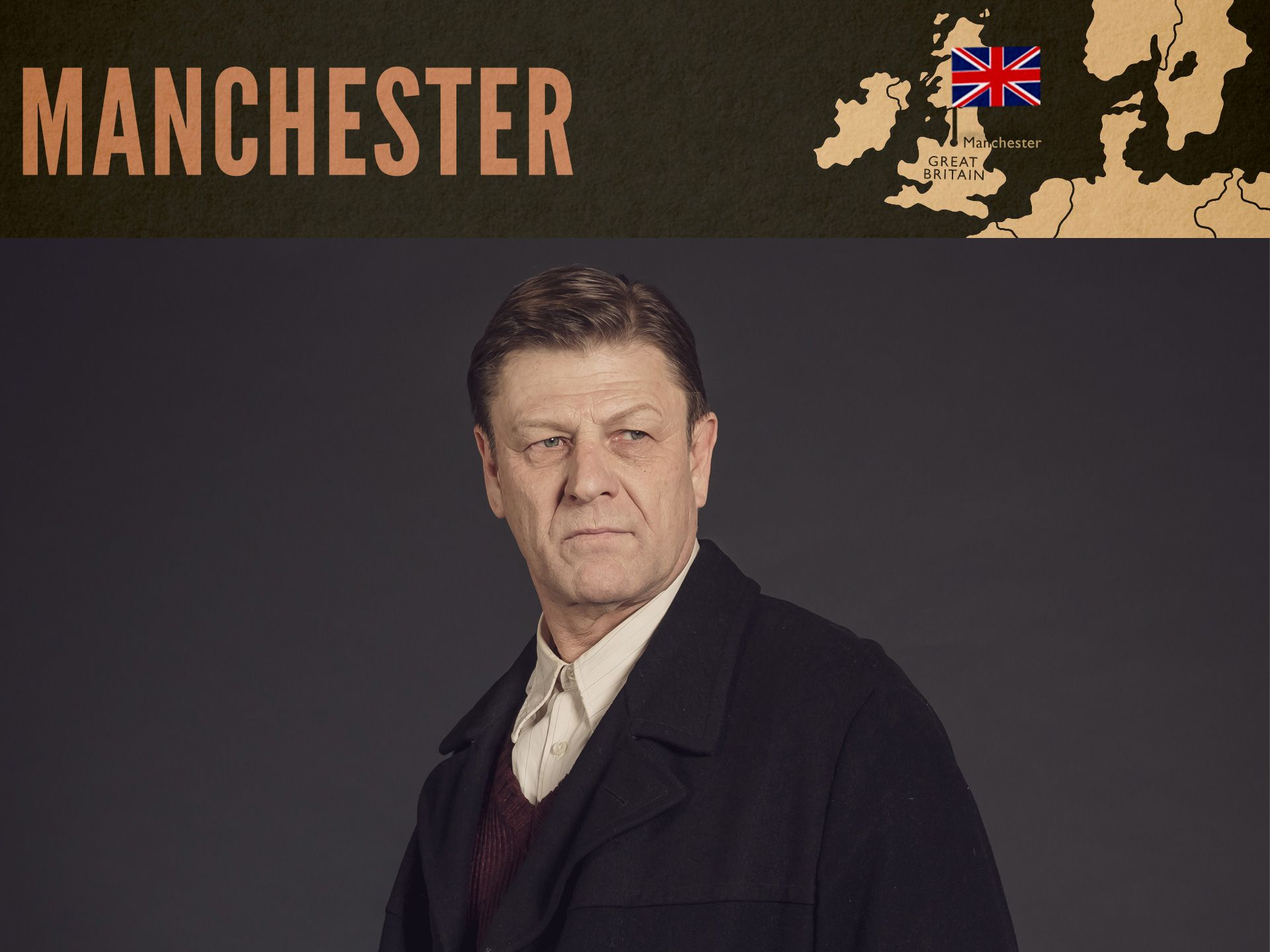Sean Bean in World on Fire on MASTERPIECE PBS