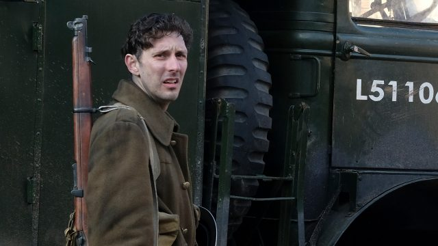 Blake Harrison as Stan Reddings in World on Fire Episode 5 on MASTERPIECE PBS