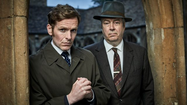 Shaun Evans and Roger Allam in Endeavour Season 7 on Masterpiece on PBS
