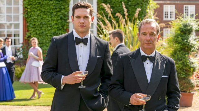 Tom Brittney and Robson Green, Grantchester: Best of Friends