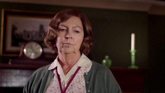 Tessa Peake-Jones as Mrs. C in Season 5, Episode 4 of Grantchester