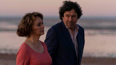 Francesca Annis and Stephen Rea in Flesh and Blood, Episode 1
