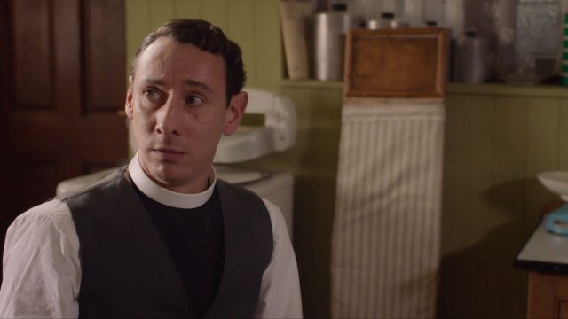 Al Weaver as Leonard in Grantchester, Season 5, Episode 6