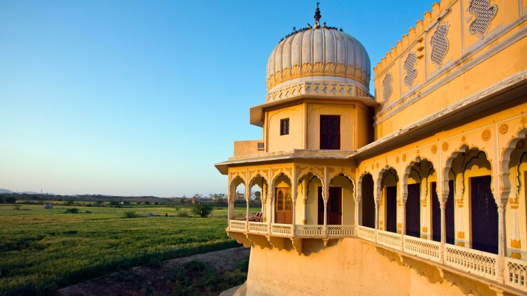 Phool Mahal Palace in Kishangarh, Beecham House location