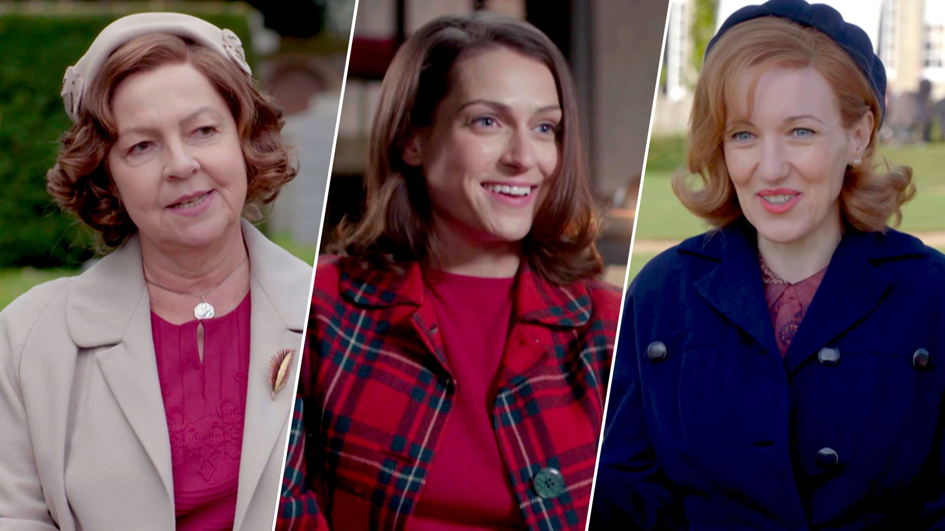 Tessa Peake-Jones, Lauren Carse and Kacey Ainsworth share advice for Grantchester characters