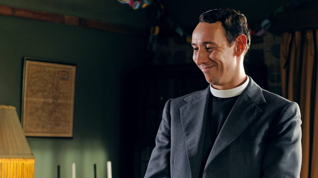 Al Weaver in Grantchester on MASTERPIECE on PBS