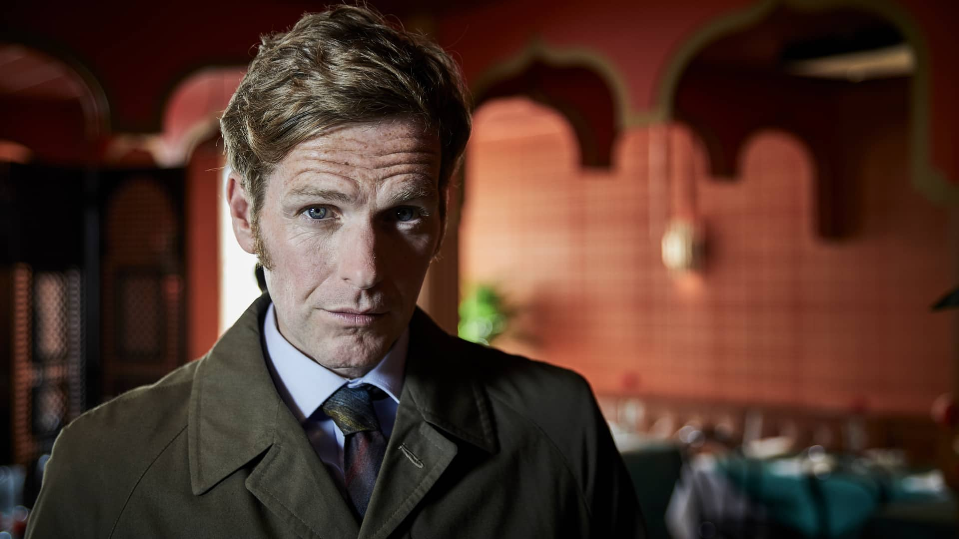 Shaun Evans as Endeavour Morse as seen on MASTERPIECE on PBS