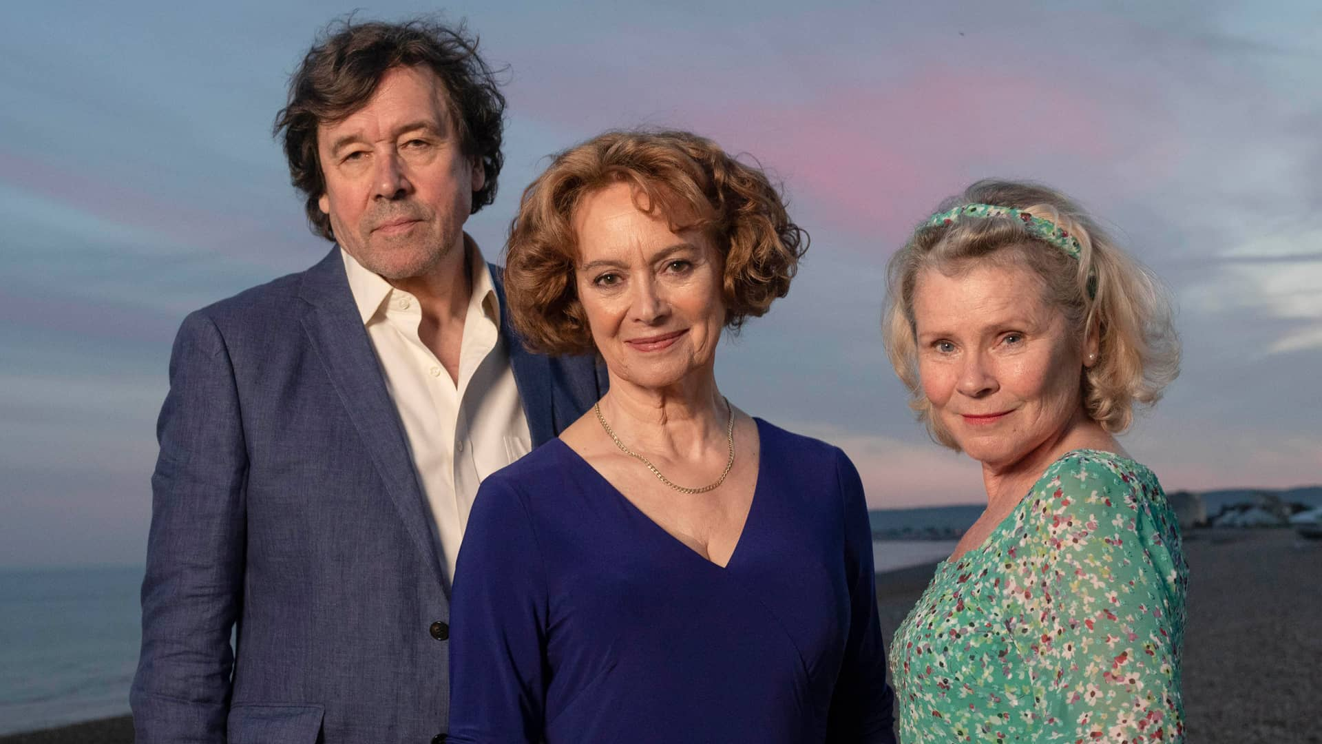 Stephen Rea, Francesca Annis and Imelda Staunton star in Flesh and Blood on MASTERPIECE PBS