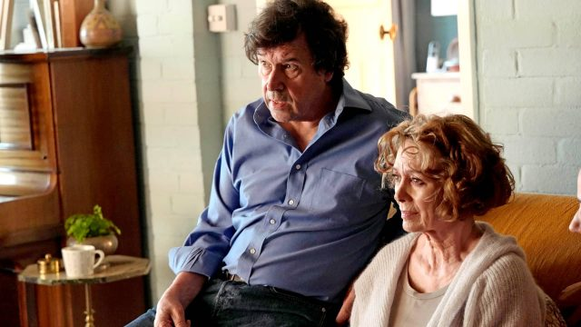 Stephen Rea and Francesca Annis in Flesh and Blood as seen on MASTERPIECE on PBS
