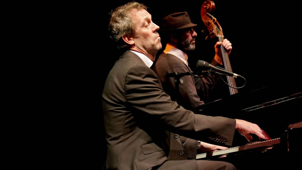 Hugh Laurie at The Royal Northern College of Music, Manchester, England, in 2011