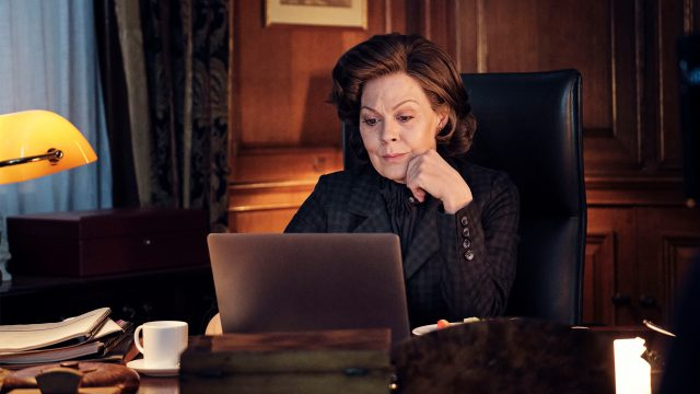 Helen McCrory in Roadkill Episode 2