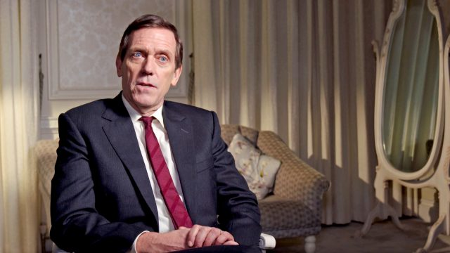 Hugh Laurie stars as Peter Laurence in Roadkill