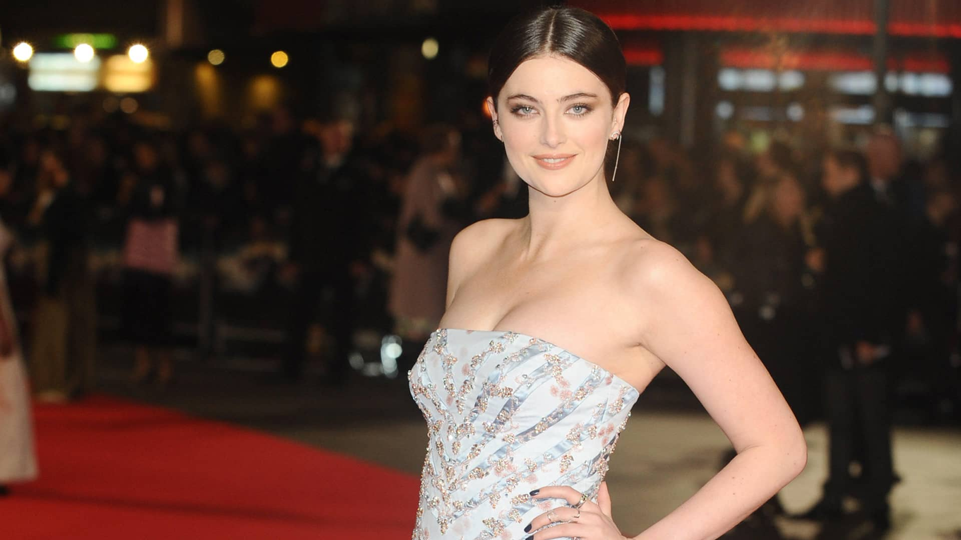 Roadkill actress Millie Brady