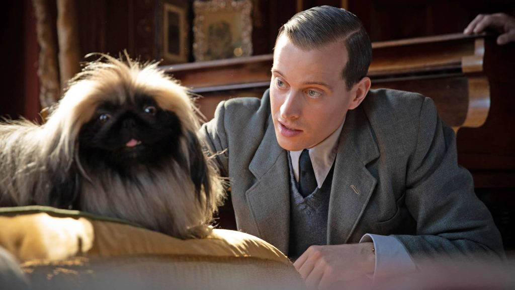 Nicholas Ralph as James Herriot in All Creatures Great and Small on Masterpiece on PBS