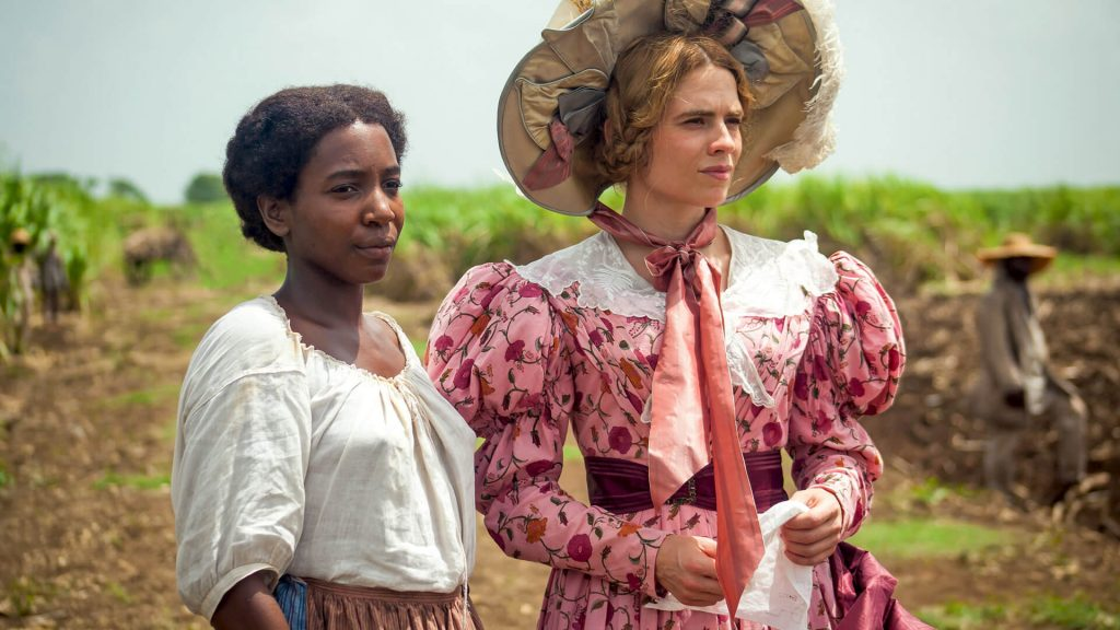 Tamara Lawrance and Hayley Atwell in The Long Song