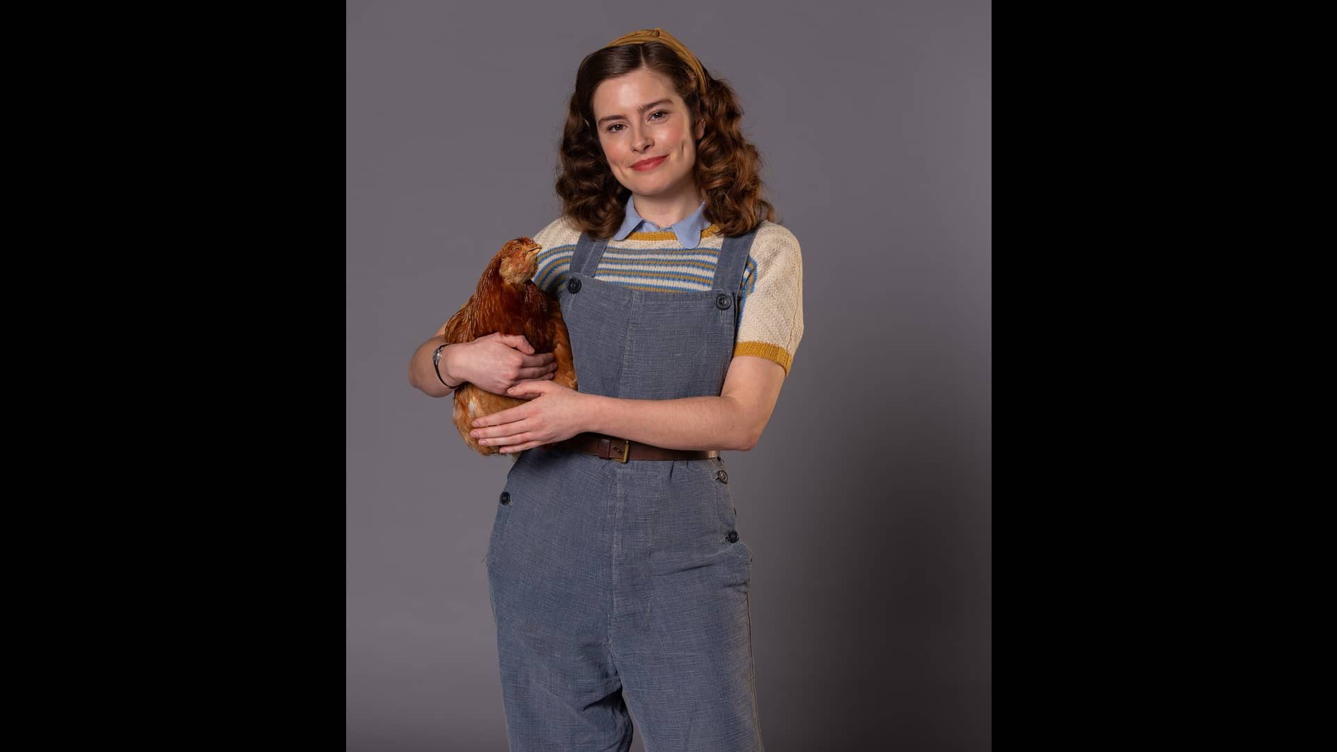 Rachel Shenton in All Creatures Great and Small on MASTERPIECE on PBS