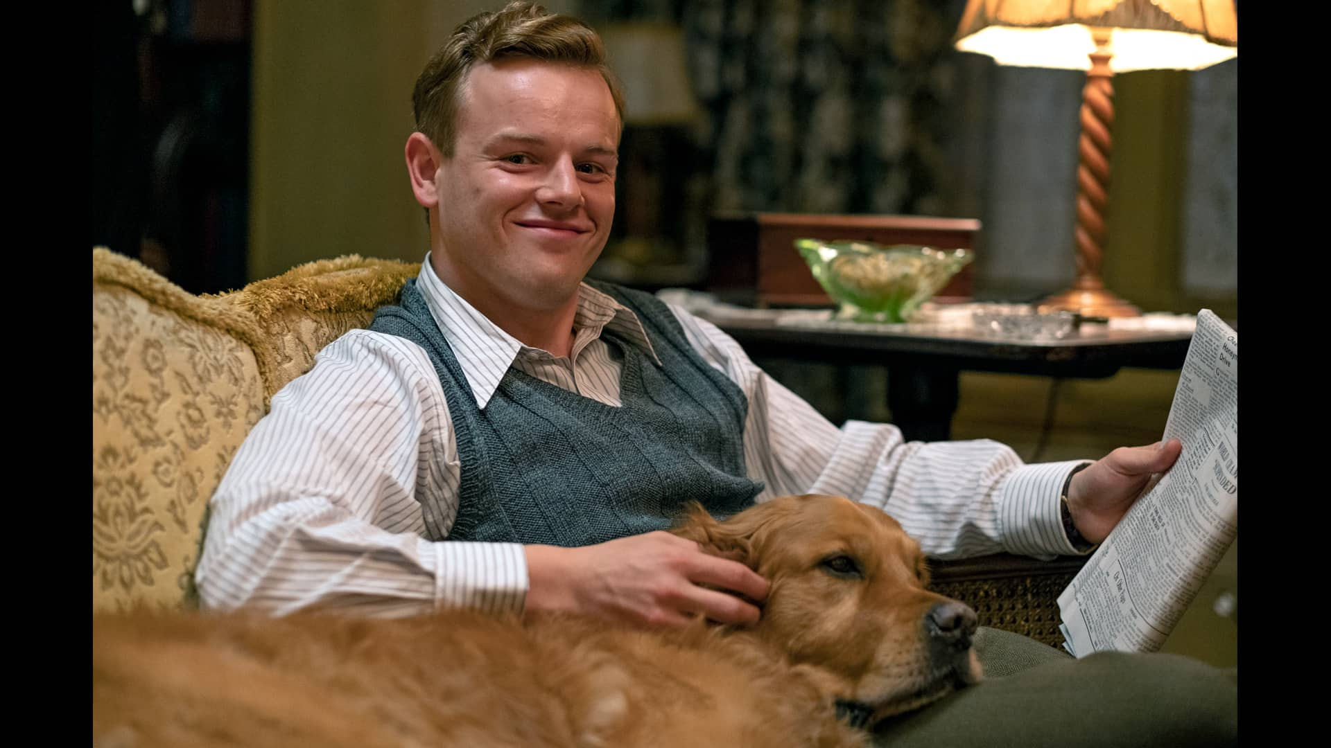 Callum Woodhouse in All Creatures Great and Small as seen on MASTERPIECE on PBS