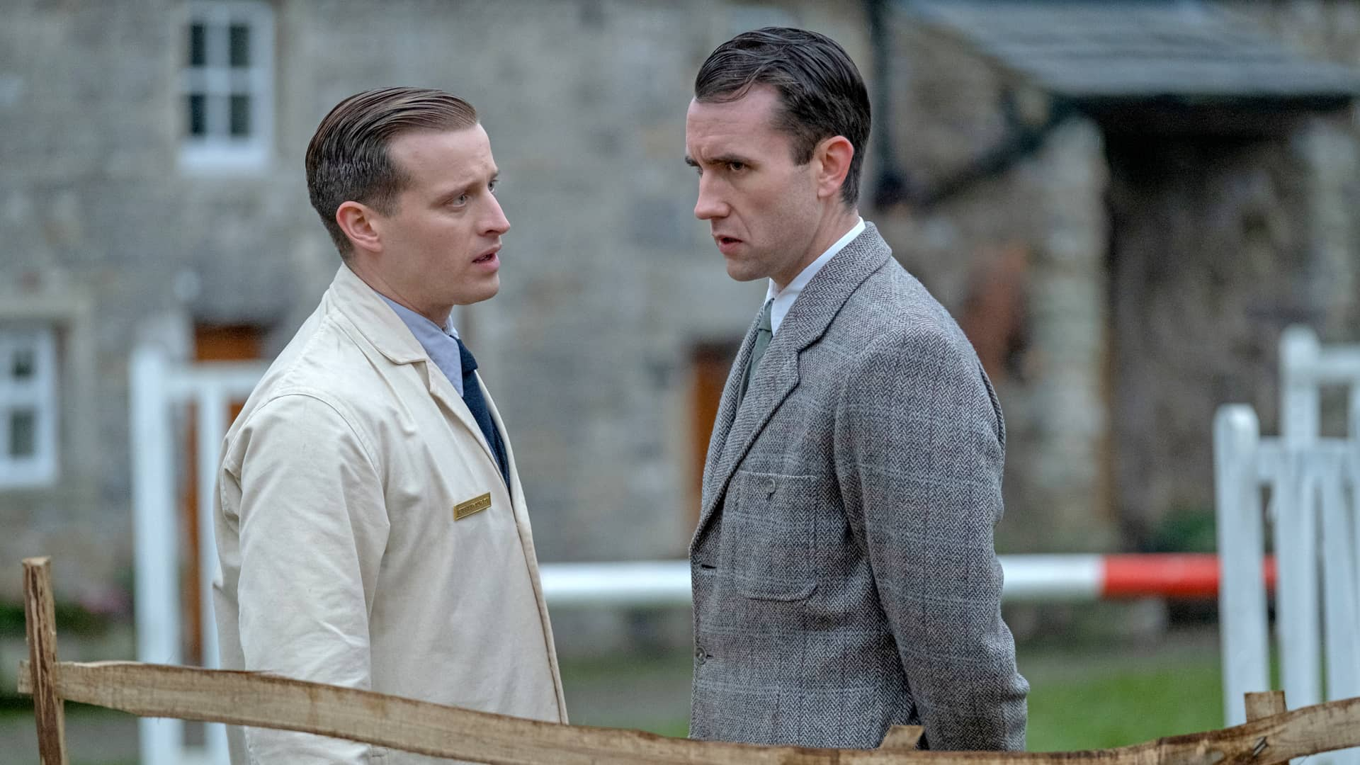 Nicholas Ralph and Matthew Lewis in All Creatures Great and Small on Masterpiece on PBS