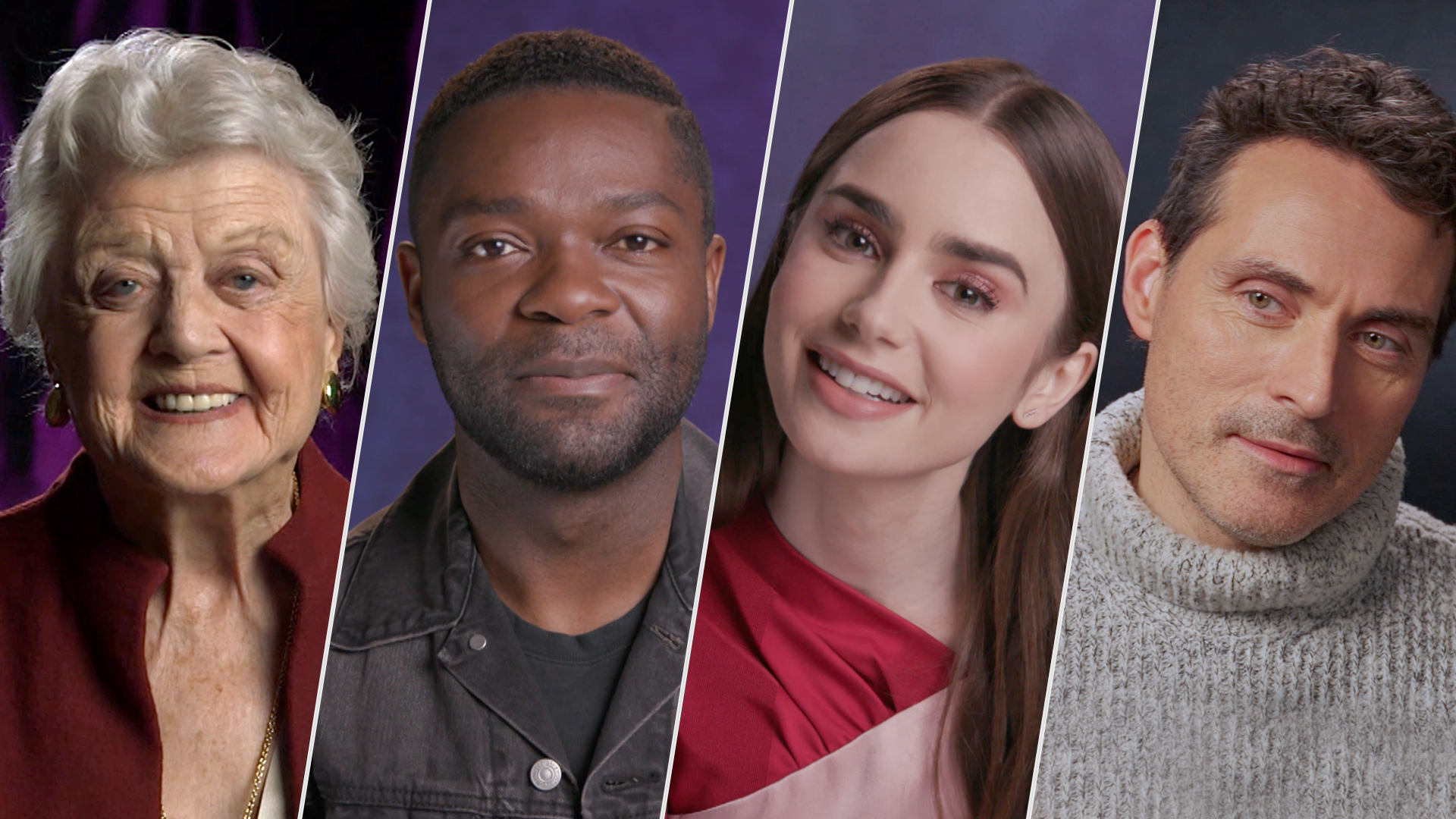 Angela Lansbury, David Oyelowo, Lily Collins and Rufus Sewell