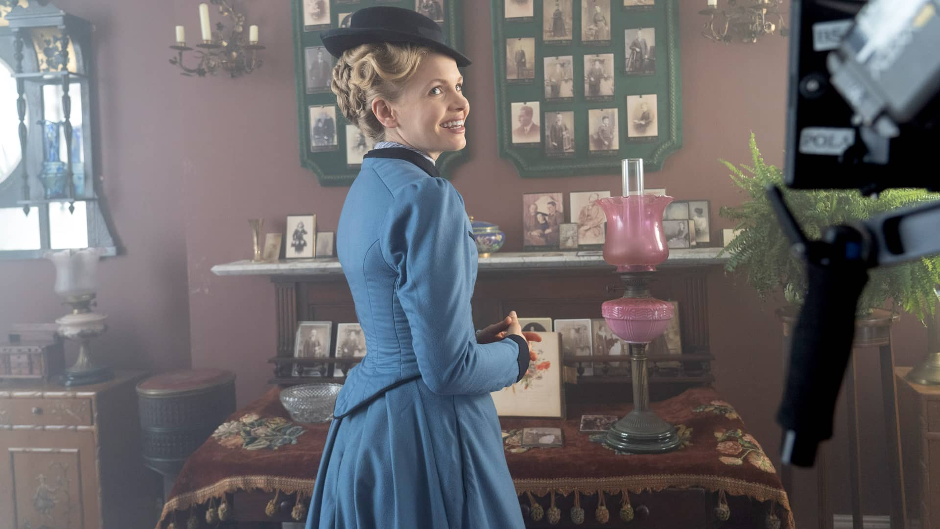 Kate Phillips in Miss Scarlet and The Duke on MASTERPIECE on PBS