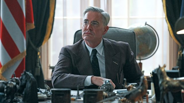 Kyle MacLachlan as FDR in Atlantic Crossing