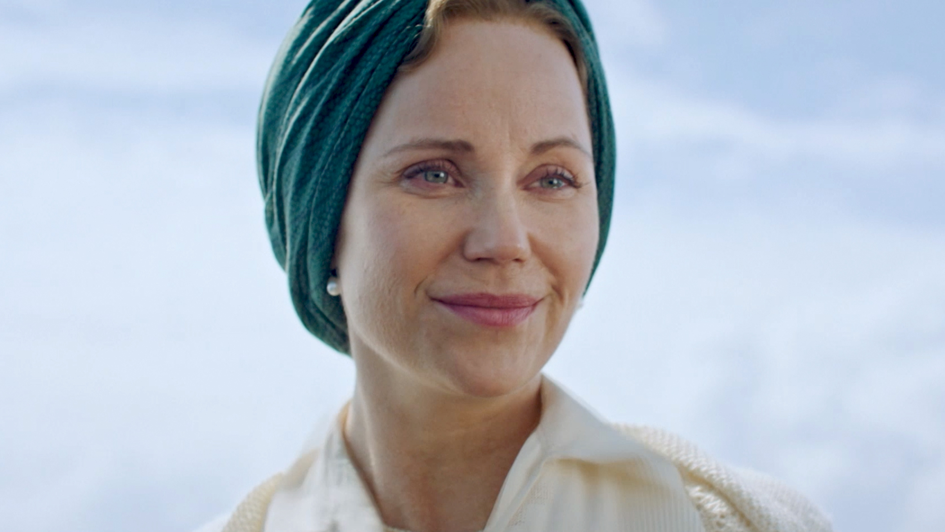 Sofia Helin as Crown Princess Martha