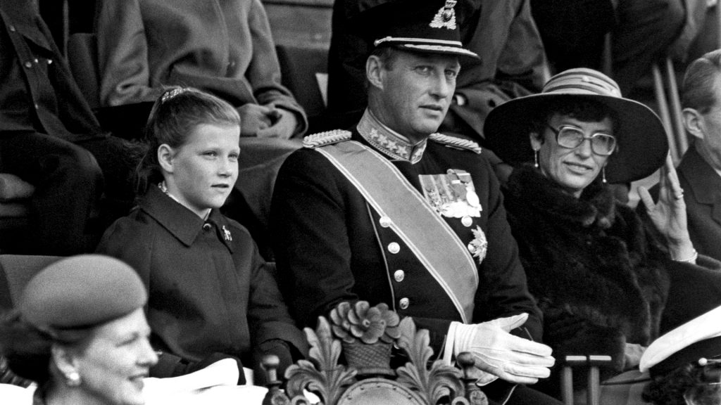 King Harald V of Norway, son of Martha and Olav