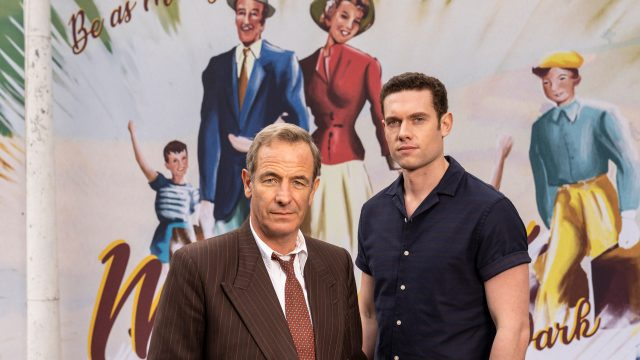 Robson Green and Tom Brittney in Grantchester Season 6