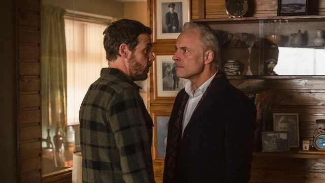 Jamie Sives and Mark Bonnar in Guilt