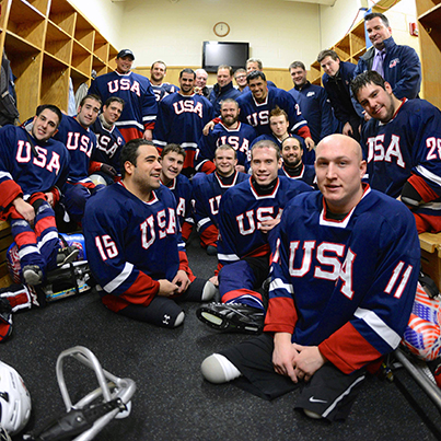 ice warriors usa sled hockey medal quest pbs