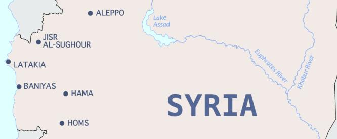 Interactive Map The Battle For Syria The Battle For Syria - Syria interactive map
