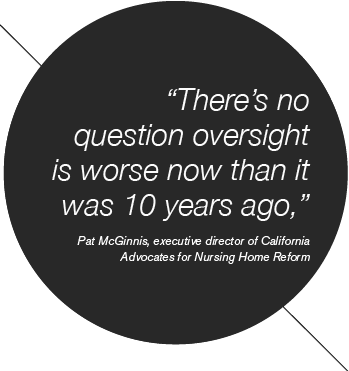 There's no question oversight is worse now than it was 10 years ago.