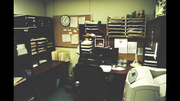 Ivins' office