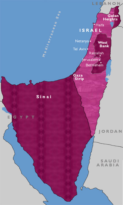 map of jordan and surrounding countries. map of the israel and