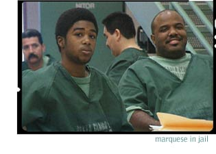 photo of marquese with others in jail