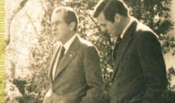 photo of rumsfeld with president nixon