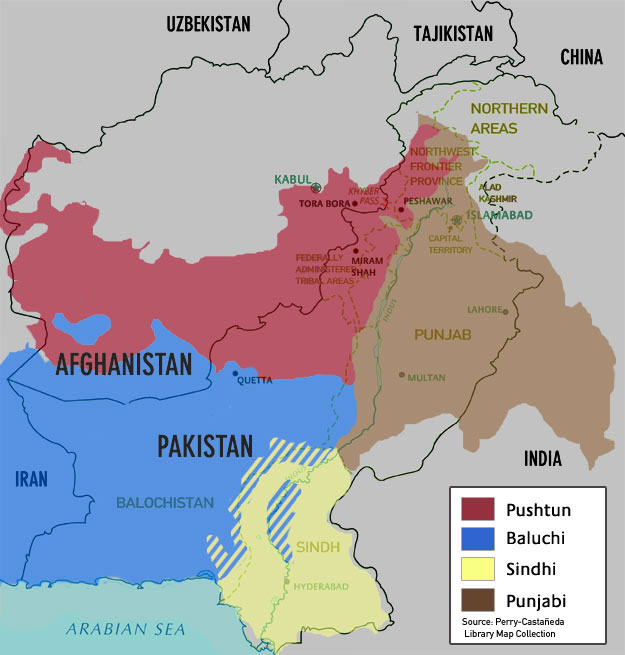 Tribal areas a critical part of the world pakistans tribal map gumiabroncs Images