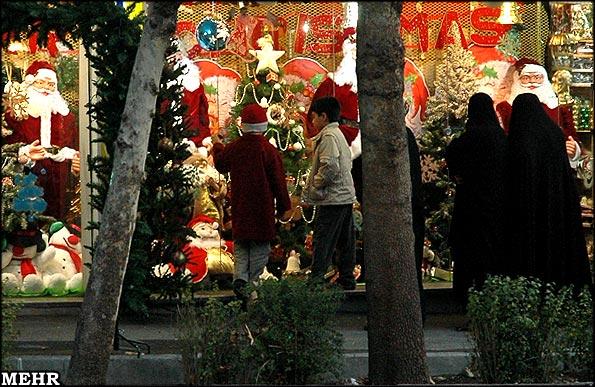 Decorated Christmas Windows