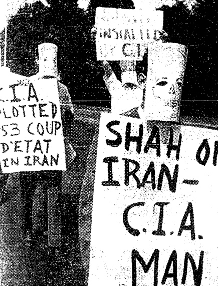 Protesting against Dictators: Ahmadinejad and the Shah