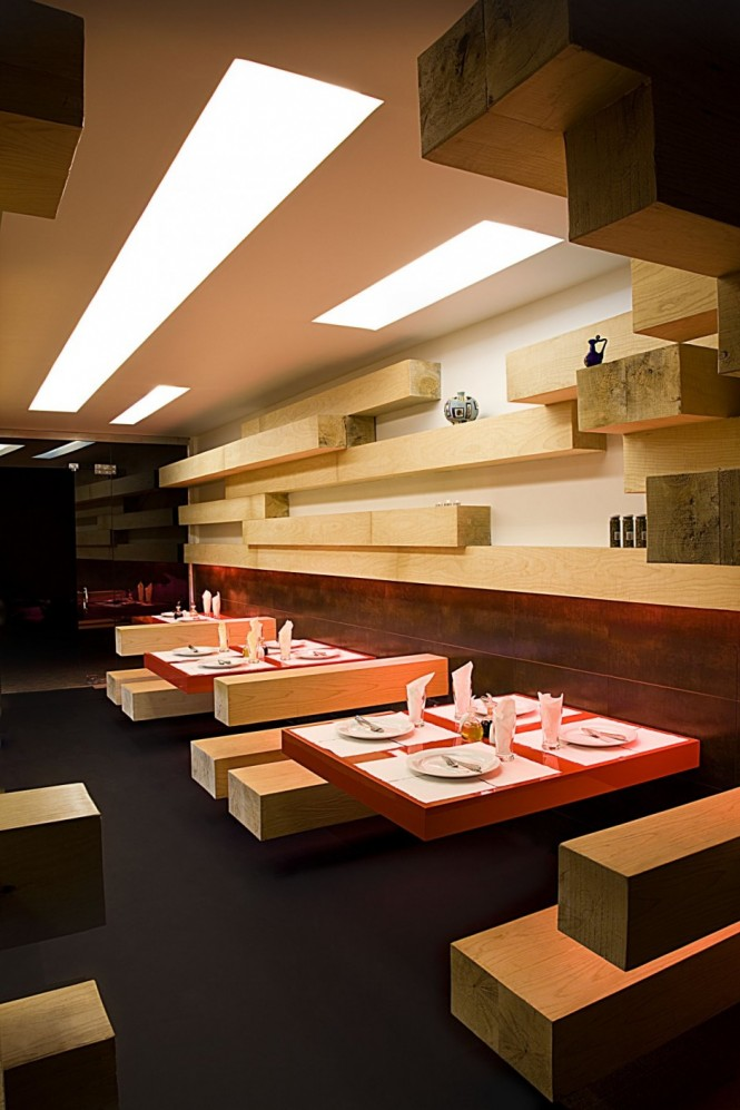 Restaurant design in tehran bureau