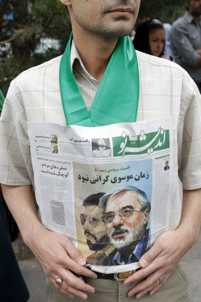 IRAN-VOTE-MOUSAVI