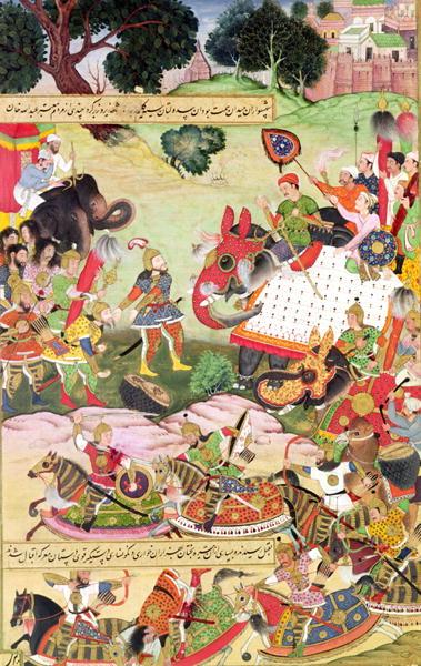 battle in Shahnameh