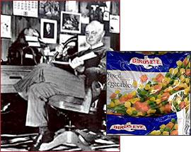 Clarence Birdseye. Frozen Food Innovator