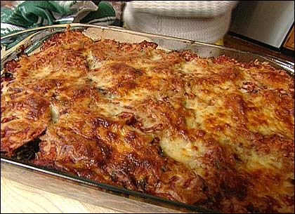 EatingWell's makeover of a traditional eggplant Parmesan recipe