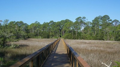 Fort Mose Historic State Park in Florida.